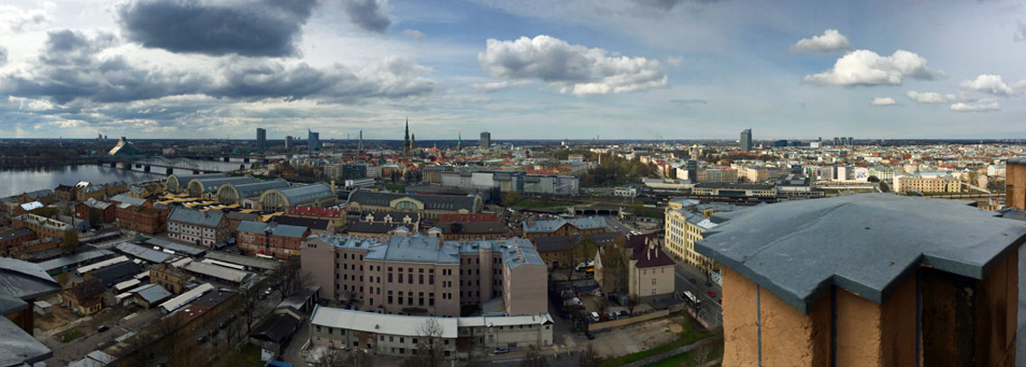 Riga Panorama. Foto: Claus Friede